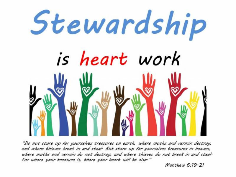 Used on Stewardship
